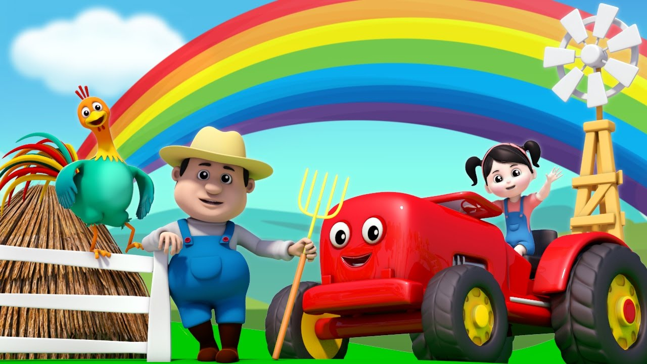 colors of the farm | nursery rhymes Farmees | colors song | learn colors by Farmees
