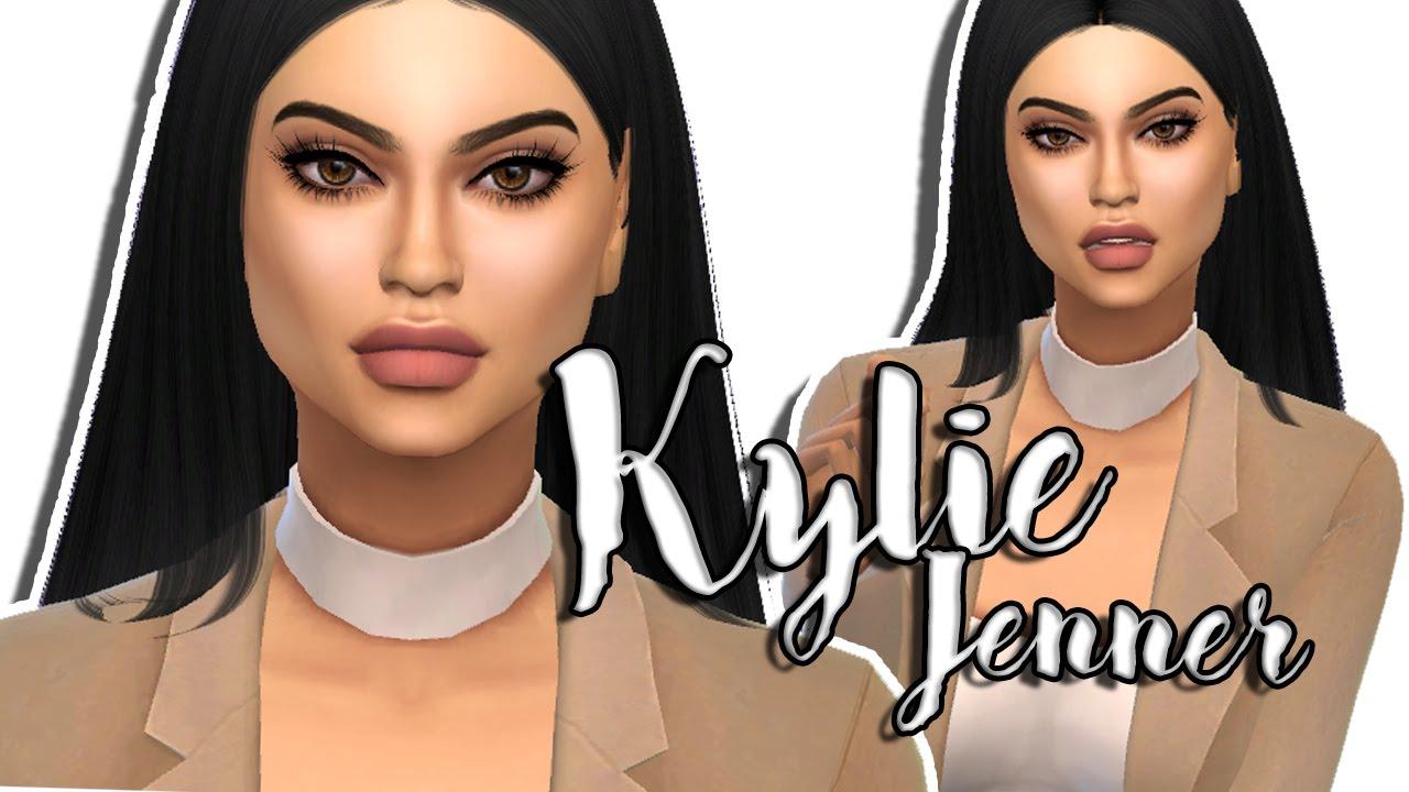the sims 4 kylie jenner create a sim youtube