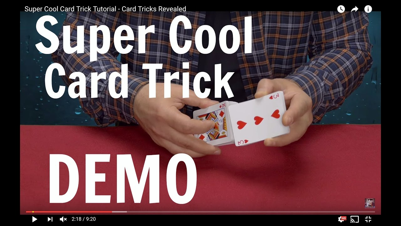 Cool Cards Tricks Revealed