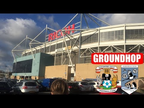 Groundhop Coventry City VS Maidenhead United / Ricoh Arena