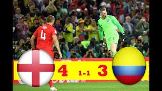 ENGLAND VS COLOMBIA 1-1 All GOALS & HIGHLIGHT WORLD CUP HD 🔥🔥🔥