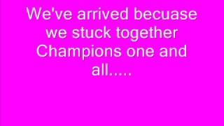 High School Musical-We're all in this together lyrics