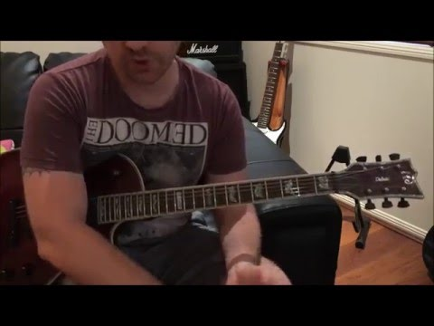 Rolling Stones - Satisfaction -- Quick Riff Guitar Lesson
