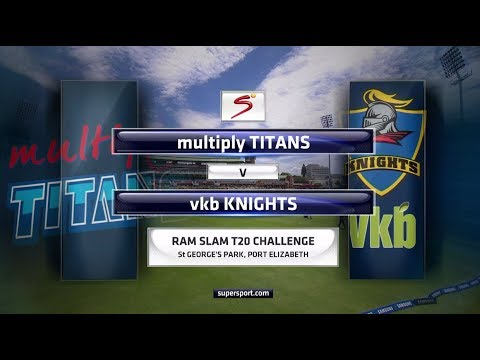 Ram Slam T20 Challenge - Multiply Titans vs VKB Knights