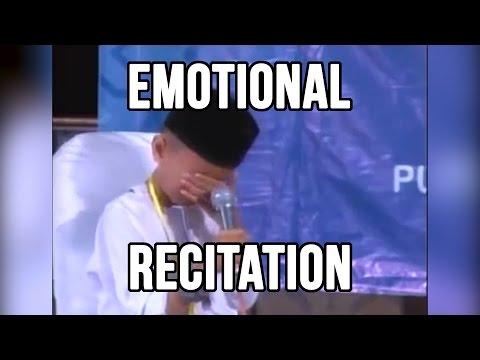 Beautiful Young Qari CRYING Reciting Surah Jumuah
