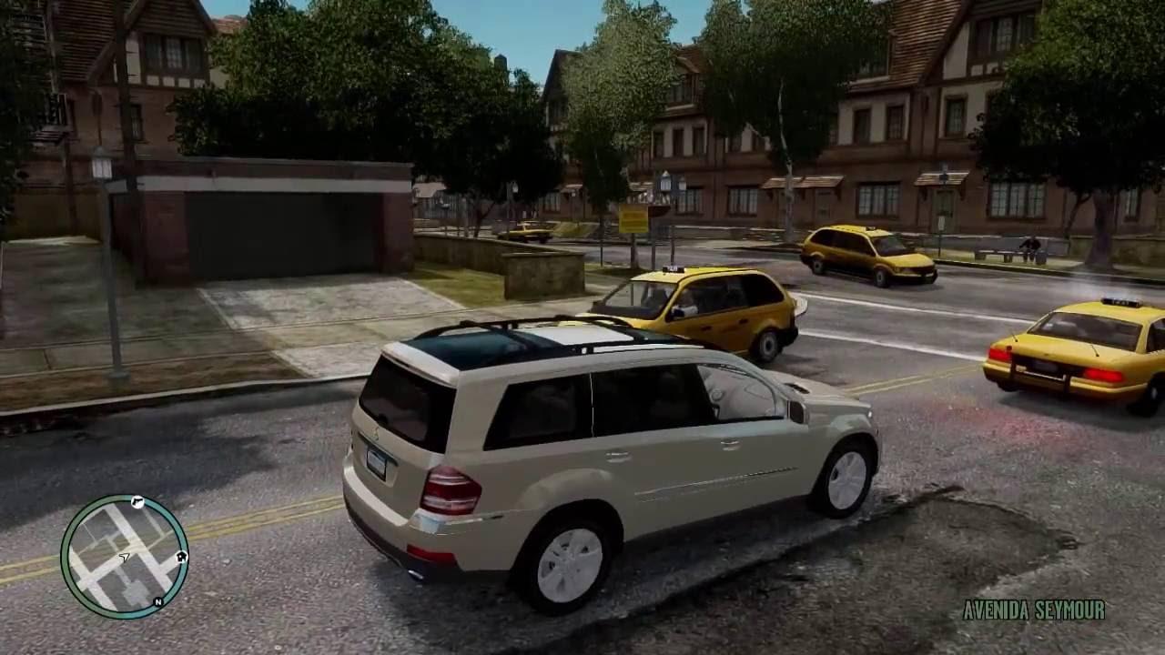 Grand Theft Auto IV - Mercedes Benz Carpack