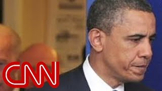 Repeat youtube video CNN: President Obama caught on open mic