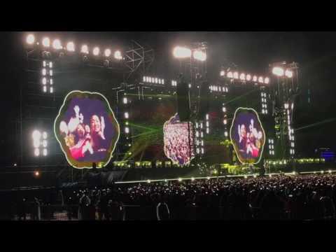 Coldplay 2017 Taiwan YELLOW