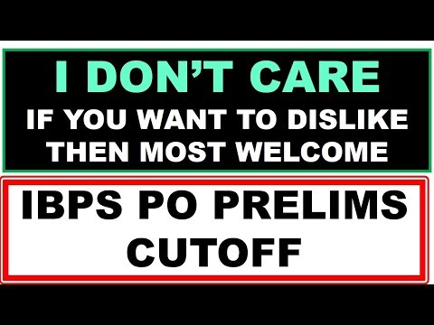 IBPS PO Prelims 2018 Expected Cutoff || Safe attempts in IBPS PO Prelims Exam Analysis and Review ||