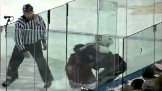ahl hartford utah hockey fight garth murray vs zenon konopka 1 17 04