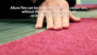 tessera carpet tile allura flex lvt ideal to be installed together