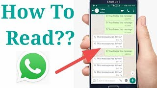 How to read Whatsapp Deleted Messages 2019 screenshot 1