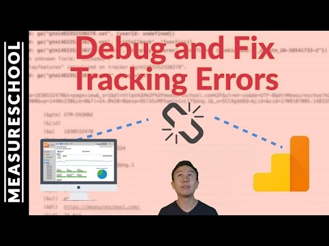 How to Debug and Fix tracking errors