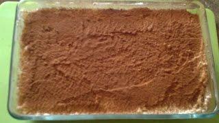 Τιραμισού με μασκαρπόνε και σαβουαγιάρ (εύκολη συνταγή χωρίς αυγά)