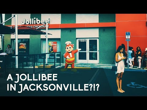 THE PHILIPPINES COMES TO JACKSONVILLE? - Jollibee in America