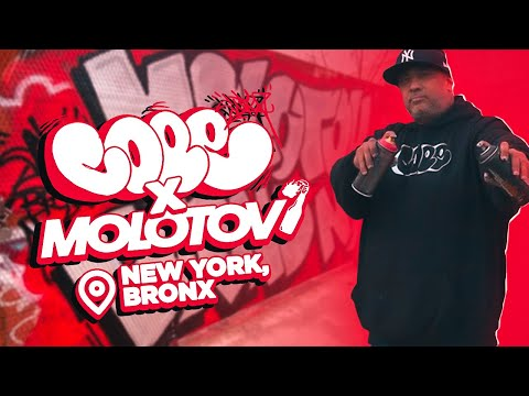 Cope2 X Molotov BRND | Graffiti By Cope2 NYC | Bronx | New York City 2019 | Graffiti 2020