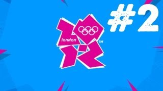 London 2012: The Official Game Walkthrough: Part 2 - 100m Freestyle,Keirin (Gameplay/Commentary)