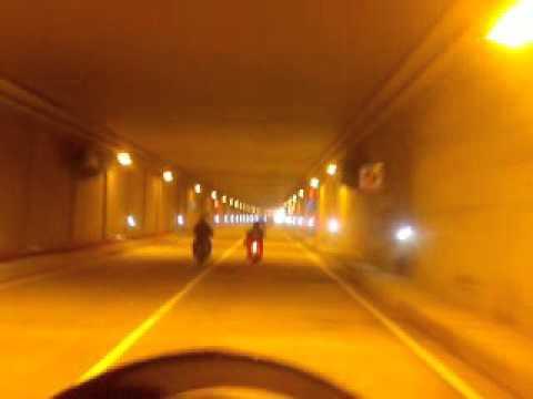 Inauracion del tunel de crespo cartagena de indias