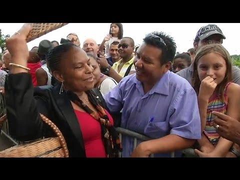 Christiane Taubira de retour en Guyane - 14/12