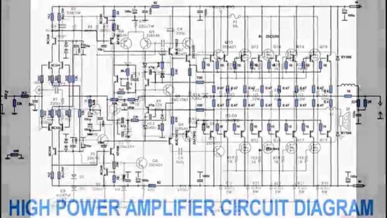 hight resolution of power amplifier design power amplifier design