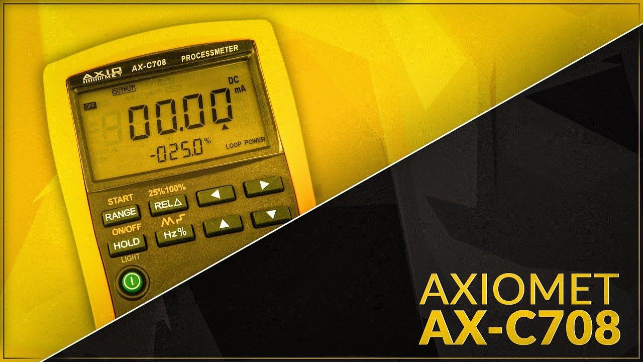 Axiomet Ax C708 Multimeter Calibrator