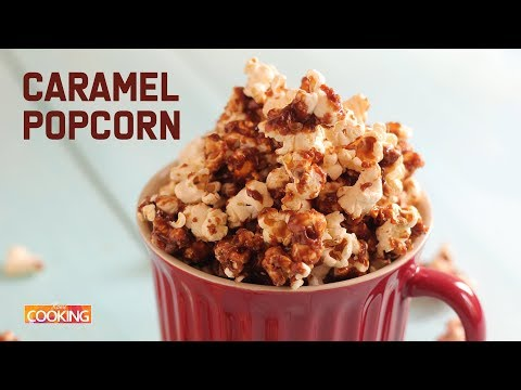 Caramel Popcorn | How to Make Perfect Caramel Popcorn | Easy Snack