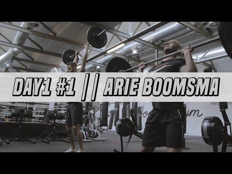 TRAINEN MET ARIE BOOMSMA  & JAYJAY BOSKE || #DAY1 #1