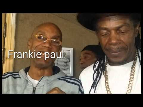 Frankie Paul and friends in studio pt1