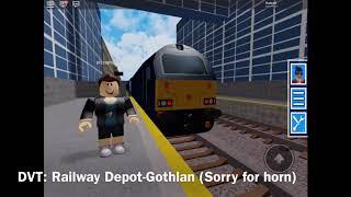 GCR treina em torno de Gothlan, Minstow e Giles Mount. ROBLOX