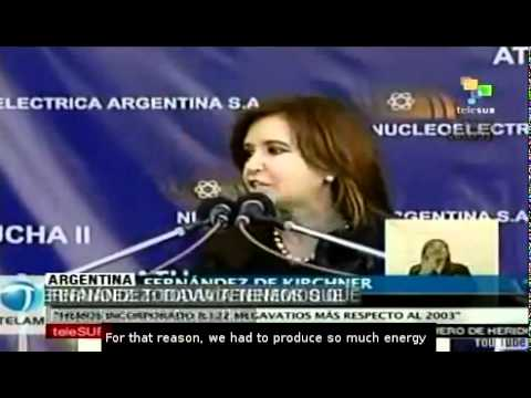 Argentina inaugurates its third nuclear energy plant