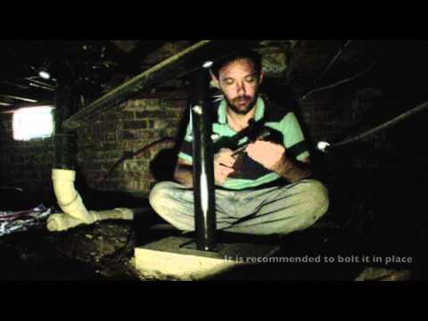 DIY Home Foundation Repair - Floor Jack in a crawl space