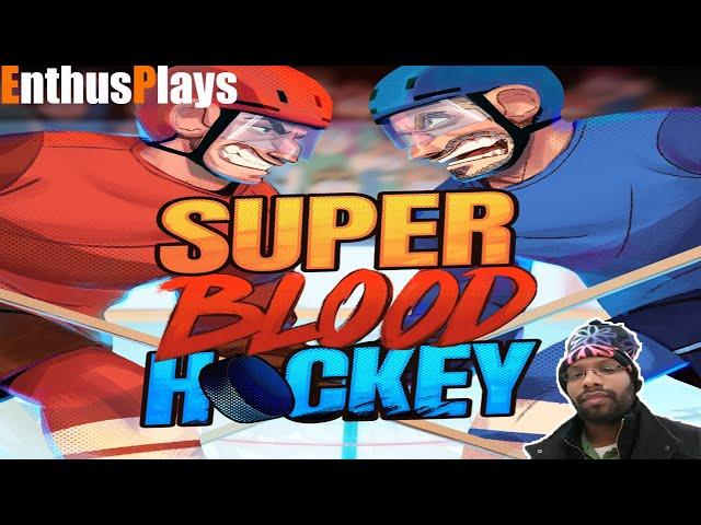 Super Blood Hockey (Switch) - EnthusPlays   GameEnthus