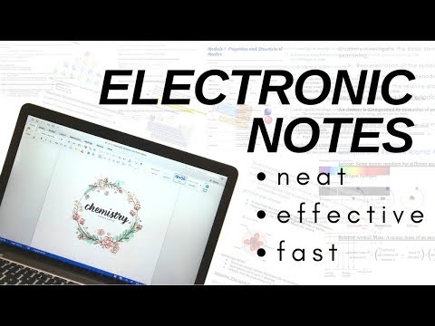🐝🐝 HOW I WRITE ELECTRONIC NOTES || NEAT, FAST AND EFFECTIVE 🐝🐝