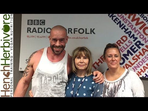 Vegan vs Mainstream Nutritionist On Radio Norfolk