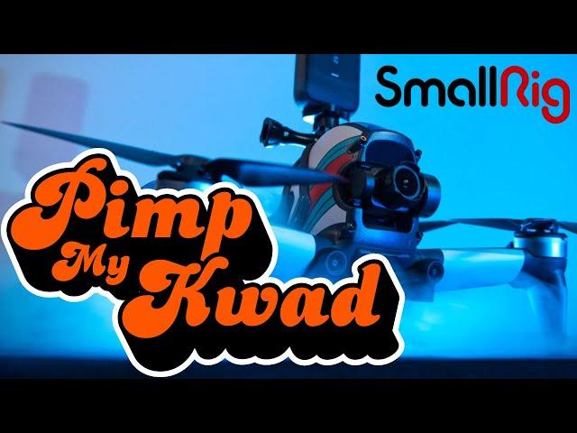 DJI FPV | PIMP MY KWAD | Small Rig Aerodynamics Accessory Kit 3281