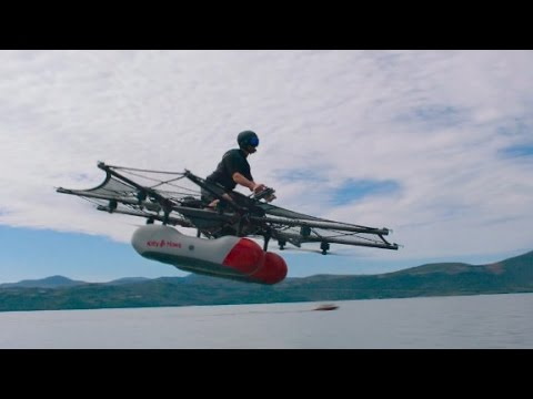 See Google co-founder Larry Page's 'flying car...