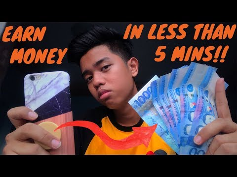 EARN MONEY using your PHONE in less than 5 MINS!!! | BASIC LANG TO!