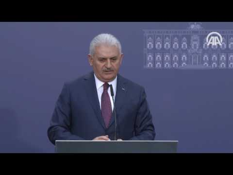 Başbakan Yıldırım: Kuzey Kıbrıs Türk tarafı çözümde bir adım önde