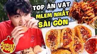 30k Ăn Sập Sài Gòn   Top 10 Món Ăn Vặt Hot Trend 2021   Woossi Food Tour