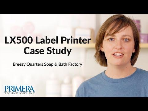 Primera LX500 Color Label Printer Case Study - Soap Factory
