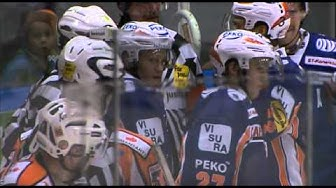 HPK:n Antti Aarnio loukkaantuminen 23.11.2012 ottelussa HPK - Tappara