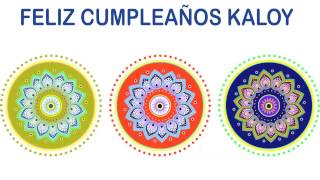 Kaloy   Indian Designs - Happy Birthday