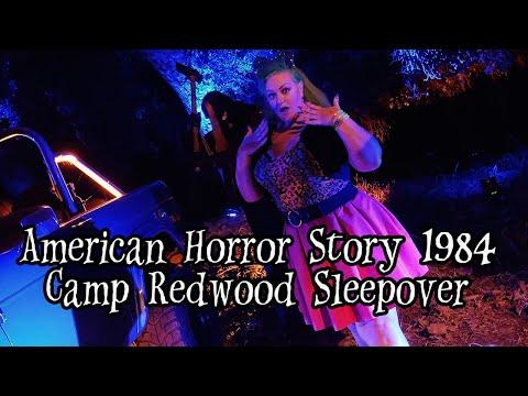 Creepy Quest: American Horror Story 1984 Camp Redwood Sleepover