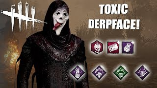 Playing As GHOSTFACE BUT I'm SUPER DERP | Dead By Daylight