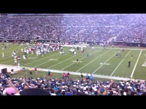Josh Scobee - 59 yard field goal - HD - Jaguars beat Colts