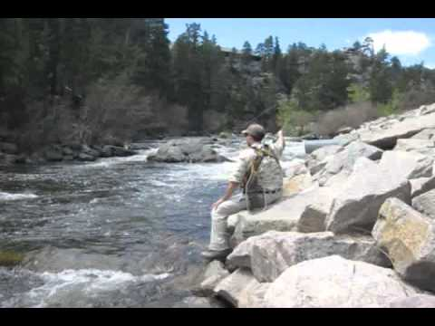 Fly Fishing Colorado In High Water May 22, 2011