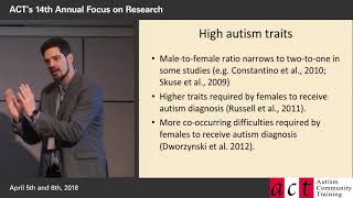 Improving the Recognition of Women and Girls on the Autism Spectrum - Part 3 - Autism's Gender Ratio