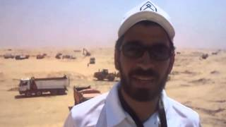 شباب مصر فى مواقع الحفر أغسطس 2014
