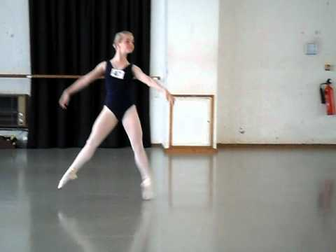 RAD ballet london scholarships 8/5/11 grade 5 study tarantella