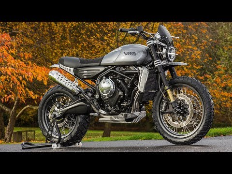 Norton Reveals 650cc Atlas Twins | Stuart Garner interview